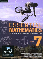 Essential Mathematics for the Australian Curriculum : Year 7 and Cambridge HOTmaths Bundle - David Greenwood