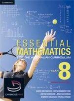 Essential Mathematics for the Australian Curriculum Year 8 and Cambridge HOTmaths Bundle : Essential Mathematics - David Greenwood