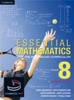 Essential Mathematics for the Australian Curriculum : Year 8 and Cambridge HOTmaths Bundle - David Greenwood