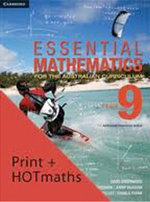 Essential Mathematics for the Australian Curriculum Year 9 and Cambridge HOTmaths Bundle - David Greenwood