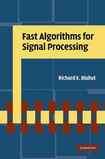 Fast Algorithms for Signal Processing - Richard E. Blahut