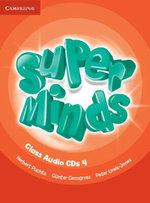 Super Minds Level 4 Class Audio CDs (4) - Herbert Puchta