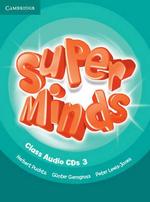 Super Minds Level 3 Class Audio CDs (3) - Herbert Puchta