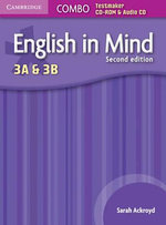 English in Mind Levels 3A and 3B Combo Testmaker CD-ROM and Audio CD - Sarah Ackroyd