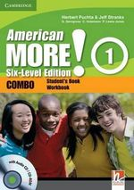 American More! Six-level Edition Level 1 Combo with Audio CD/CD-ROM - Herbert Puchta
