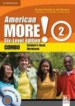 American More! Six-level Edition Level 2 Combo with Audio CD/CD-ROM - Herbert Puchta