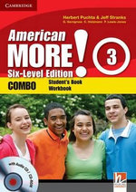 American More! Six-level Edition Level 3 Combo with Audio CD/CD-ROM - Herbert Puchta