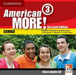 American More! Six-level Edition Level 3 Class Audio CD : Six-level Edition Level 3 Class - Herbert Puchta