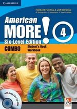 American More! Six-Level Edition Level 4 Combo with Audio CD/CD-ROM - Herbert Puchta