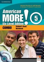 American More! Six-level Edition Level 5 Combo with Audio CD/CD-ROM - Herbert Puchta