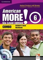 American More! Six-level Edition Level 6 Combo with Audio CD/CD-ROM - Herbert Puchta