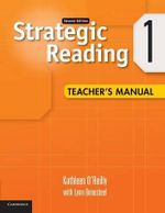 Strategic Reading Level 1 Teacher's Manual : Level 1 - Kathleen O'Reilly