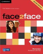 Face2face Elementary Workbook with Key : Elementary - Chris Redston