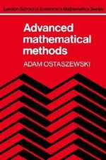 Advanced Mathematical Methods - Adam Ostaszewski