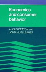 Economics and Consumer Behavior - Angus Deaton