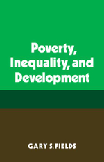 Poverty Inequality Developt : On the Origins and Development of Karl Rahner's Me... - Gary S. Fields