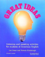 Great Ideas Student's book : Listening and Speaking Activities for Students of American English - Leo Jones