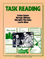 Task Reading - Evelyn Davies