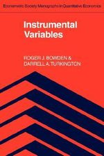 Instrumental Variables - R.J. Bowden