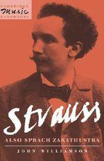 Strauss : Also sprach Zarathustra - John Williamson