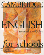 Cambridge English for Schools : Student's Book One - Andrew Littlejohn