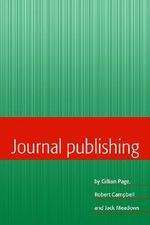 Journal Publishing - Gillian Page