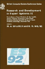 Research and Development in Expert Systems IX : v. 9 - M. A. Bramer