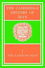 The Cambridge History of Iran 7 Volume Set in 8 Pieces :  Seleucid Parthian - Harold Bailey