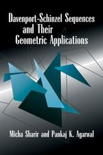 Davenport-Schinzel Sequences and their Geometric Applications - Micha Sharir