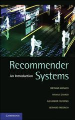 Recommender Systems : An Introduction - Dietmar Jannach