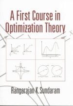A First Course in Optimization Theory - Rangarajan K. Sundaram