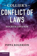 Collier's Conflict of Laws : The Brazilian Experience in Latin American Context - John Collier