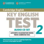 Cambridge Key English Test 2 Audio CD Set (2 CDs) : Examination Papers from the University of Cambridge ESOL Examinations - Cambridge ESOL