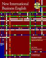 New International Business English Updated Edition Student's Book with Bonus Extra BEC Vantage Preparation CD-ROM : Communication Skills in English for Business Purposes - Leo Jones