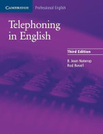 Telephoning in English Pupil's Book - B. Jean Naterop