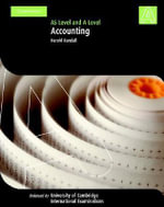 Accounting A Level and AS Level : As Level and a Level - Harold Randall