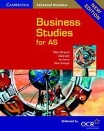 Business Studies for AS OCR - David Dyer