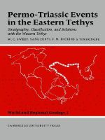 Permo-Triassic Events in the Eastern Tethys : Stratigraphy Classification and Relations with the Western Tethys