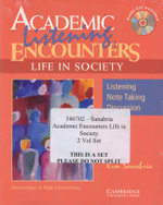 Academic Encounters Life in Society 2 Book Set (Reading Student's Book and Listening Student's Book with Audio CD) : Reading Student's Book and Listening Student's Book - Kim Sanabria