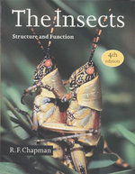 The Insects : Structure and Function - 4th Edition - R.F. Chapman