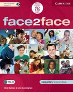 face2face Elementary Student's Book with CD ROM/Audio CD : Face2face - Chris Redston