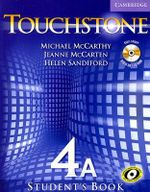 Touchstone Level 4 Student's Book A with Audio CD/CD-ROM - Michael McCarthy