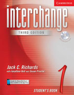 Interchange Student's Book 1 with Audio CD : Student's Book 1 [With CD] - Jack C. Richards