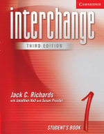Interchange Student's Book 1 : Level 1 - Jack C. Richards