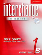 Interchange Student's Book 1B with Audio CD : Bk. 1B - Jack C. Richards
