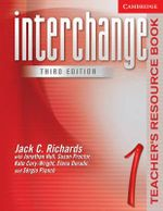 Interchange Teacher's Resource Book 1 : Level 1 - Jack C. Richards