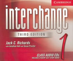 Interchange Level 1 Class Audio CDs 1 : Level 1 - Jack C. Richards