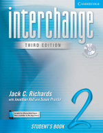 Interchange Student's Book 2 with Audio CD : Student's Book 2 - Jack C. Richards