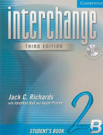 Interchange Student's Book 2B with Audio CD : Student's Book 2B - Jack C. Richards