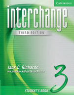 Interchange Student's Book 3 : Level 3 - Jack C. Richards